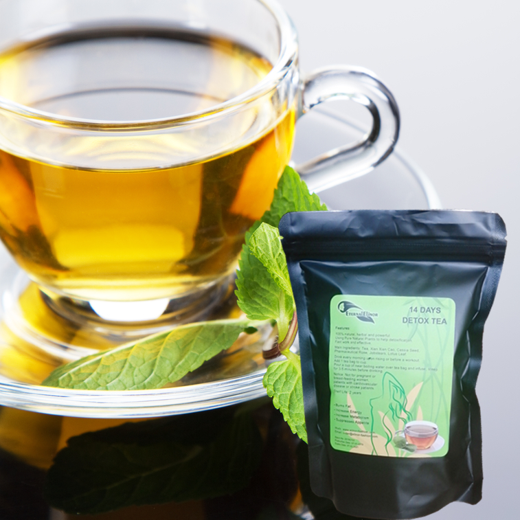 Eternal Elinor flat tummy tea private label 100% natural herbs new diet fit detox tea boost metabolism - 4uTea | 4uTea.com
