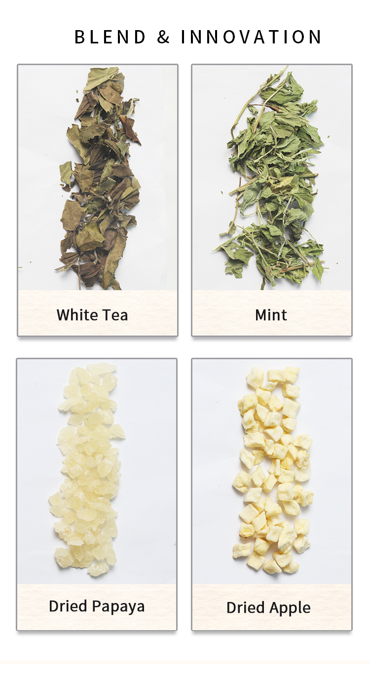China Blackberry Chamomile Lavender Tea Fruit Orange Vanilla Bergamot Earl Gray Pure Leaf Mint Flavor White Tea - 4uTea | 4uTea.com