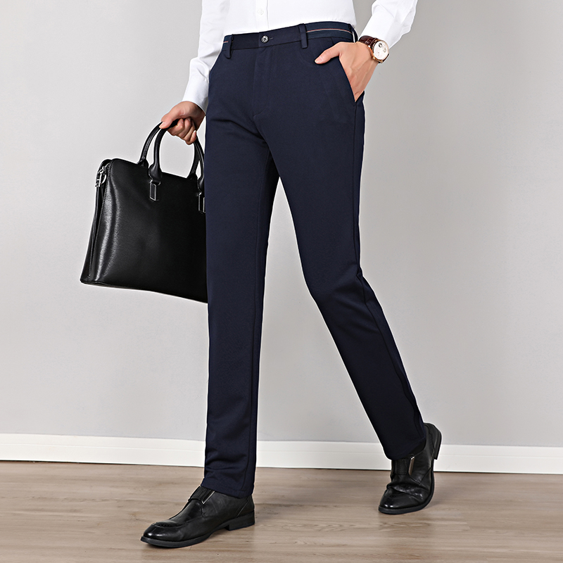 Wholesale New Arrival Good Quality Men's Comfortable Pants Men Formal Trousers Classic Business Pantalons