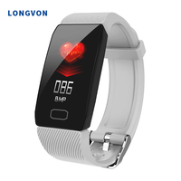 New Q1 Smart Watch Bracelet Heart Rate Monitor IP67 Waterproof For IOS Android iphoneFashion sports Band hot smartwatch