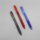 Erasable Pens Ink Eraser Pen Retractable Erasable Gel Ink Pens Clicker Eraser Pens Fine Point 0.7 Mm Erasable Pens With Rubber For Smooth Writing Drawing