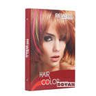 New design hair color chart swatch ISO hair color chart for hair dying