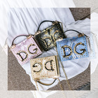 2020 Fashion PU leather Famous Brands Bolsa Shoulder Handbags letter DG Crossbody Bags For Women Female Hand Bag