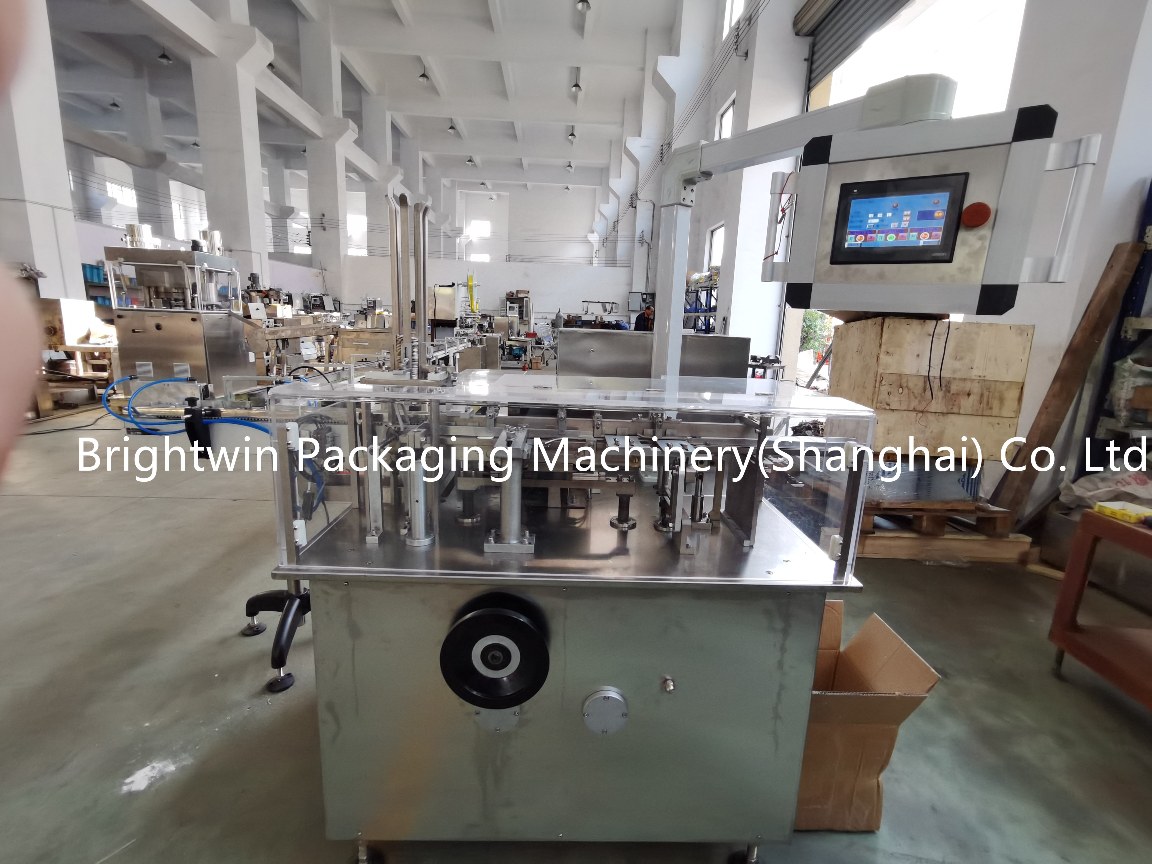 automatic hookah charcoal wrapping machine with video