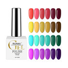 Color Nail Polish Over 800 Colors Samples Nail Gel Polish RONIKI Free Sample OEM Private Label Color Soak Off Uv Nail Gel Polish