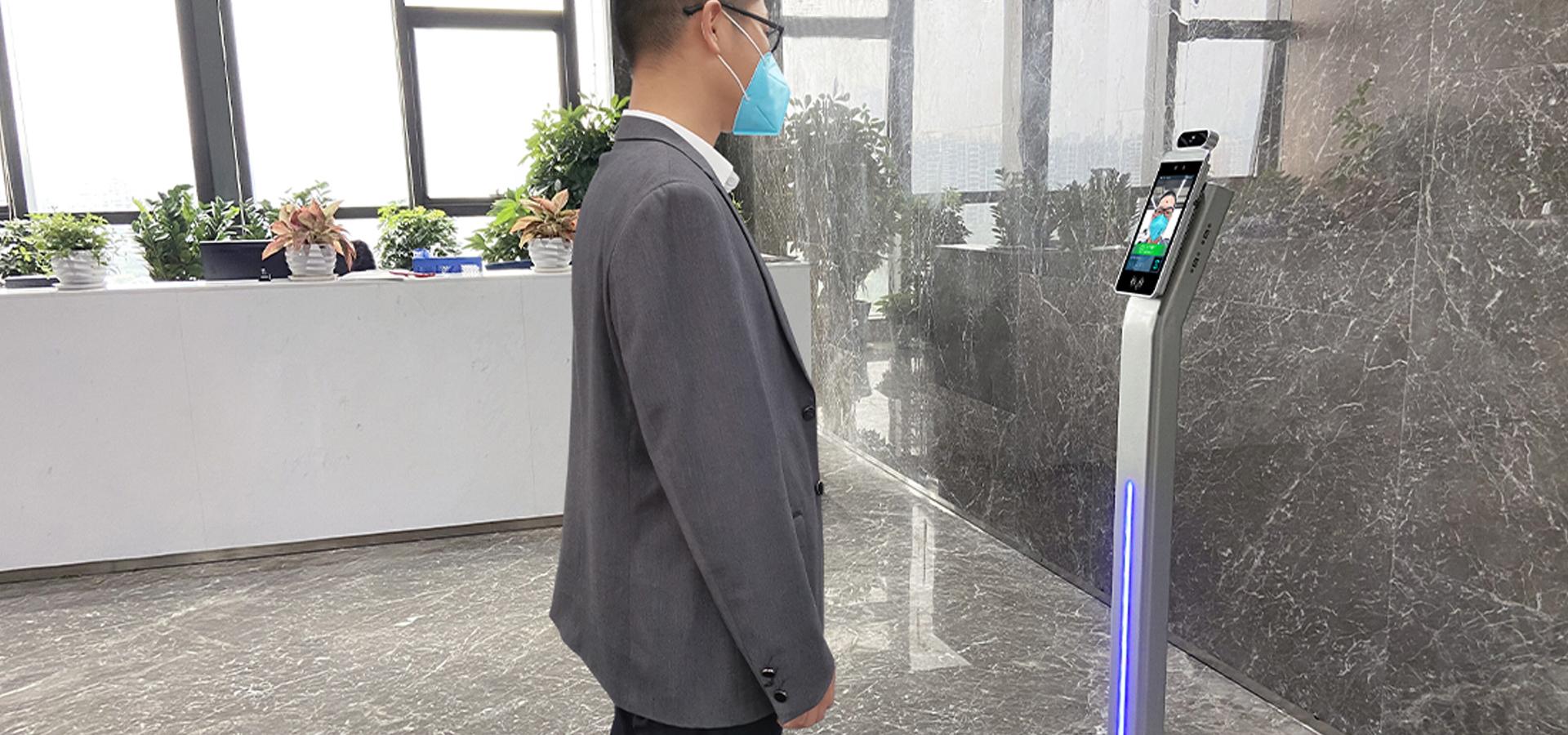 Face Recognitionเครื่อง/กล้องการวัดอุณหภูมิระบบ