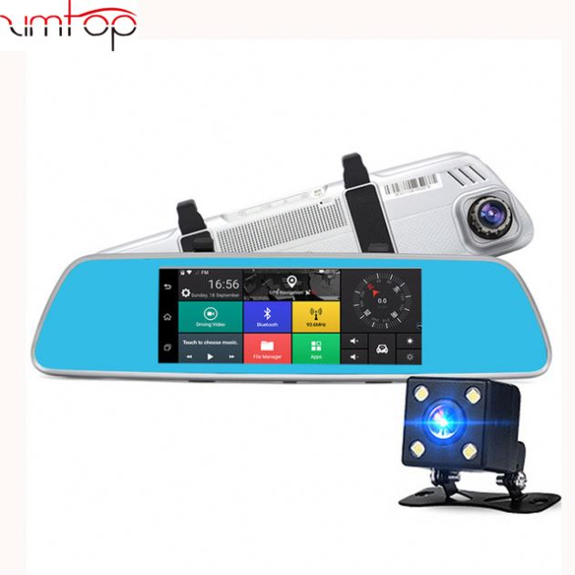"""7"""" 3G Special Mirror Car DVR Camera Android 5.1 with GPS"""