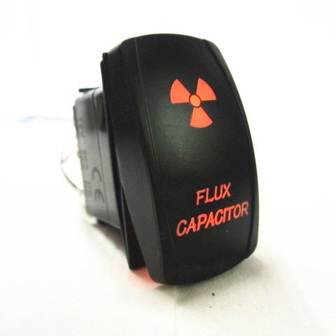Waterproof Orange LED Rocker Switch with Light ON//OFF BOAT Marine UTV Offroad