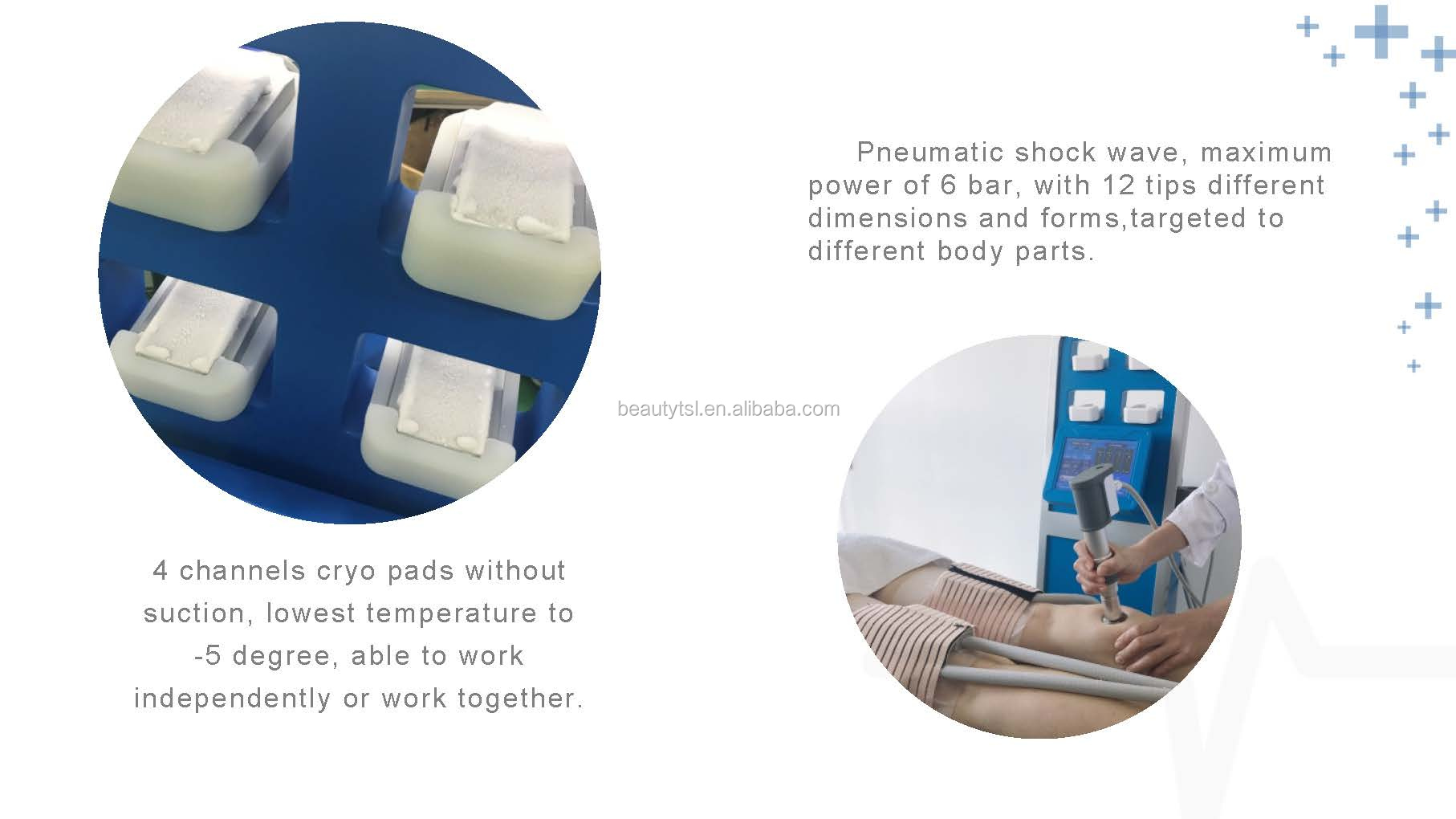 sw10f cool wave plus 10 LINGMEI 2in1 cool pads Physiotherapy Shockwave Therapy Rompe plantar fasciitis shockwave therapy apparatus.jpg