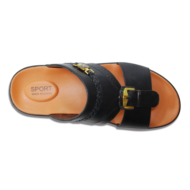 Wholesale Man latest new sandals With lotto Slippers Fancy Sandal Slipper Arabic Slipper
