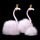 Wholesale Stage Use Decoration Oresin Flamingo Custom Figurine Resin Craft Statue