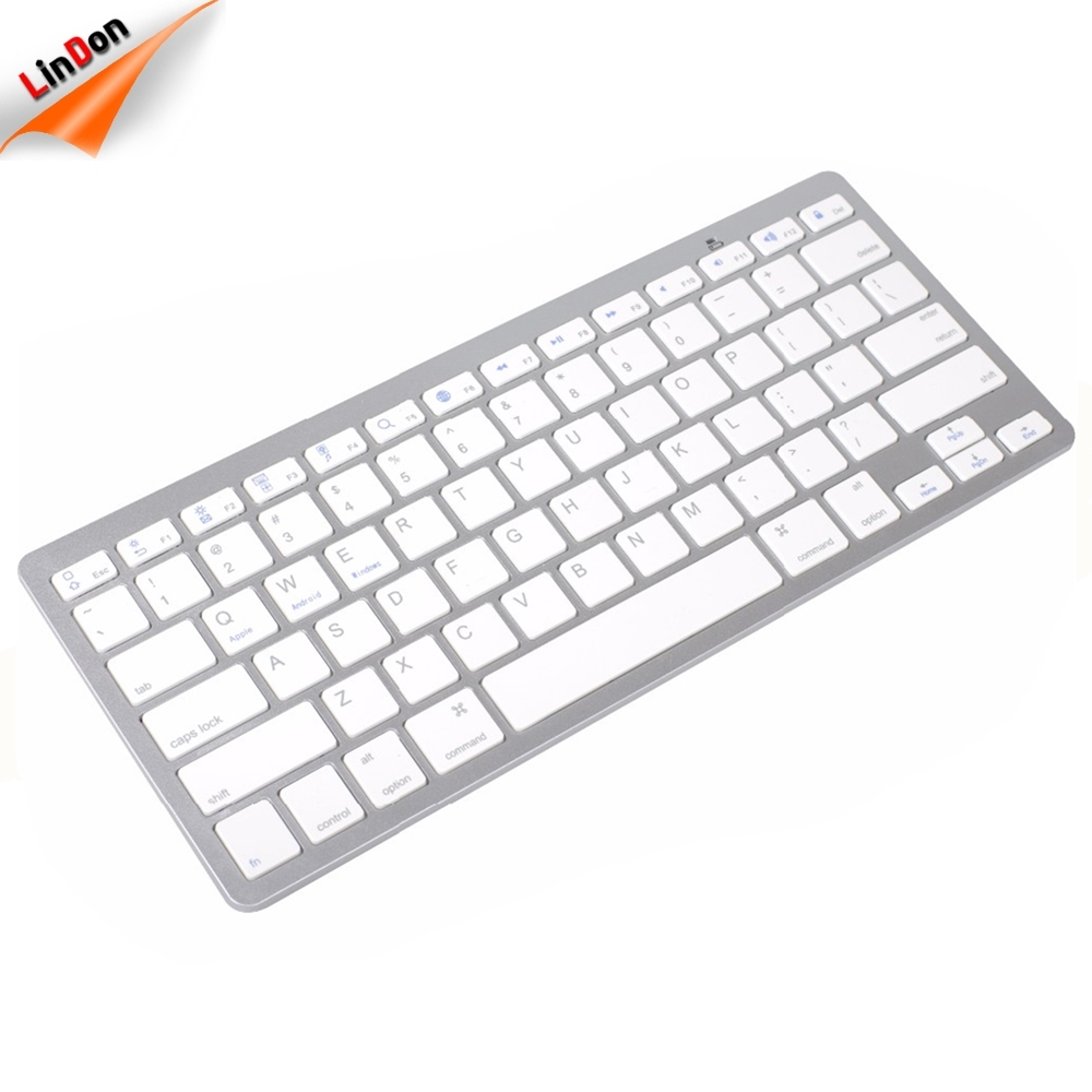 Bluetooth Wireless Tastatur Tastatur Ultra-Slim universal Für PC Apple iPad Laptop Android IOS
