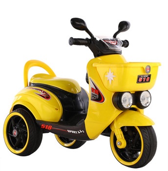 China wholesale kids motorcycle/kids electric ride on car/children 3 wheels mini motorcycle