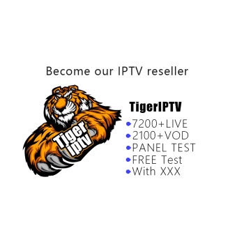 IPTV Super Reseller Panel Tiger iptv7200 +Live/2000+VOD Subscription USA Europe TX3 Set Top Box Smart TV with xxx
