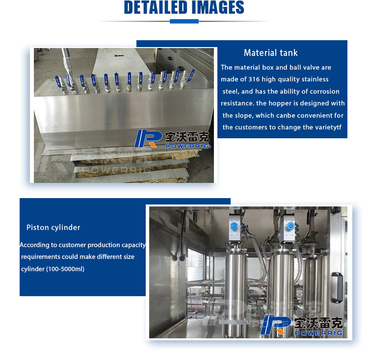 High quality automatic liquid  filling machine for detergent and liquid soap
