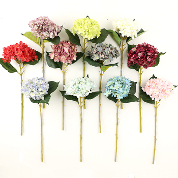 hydrangea for wedding decoration silk artificial flower