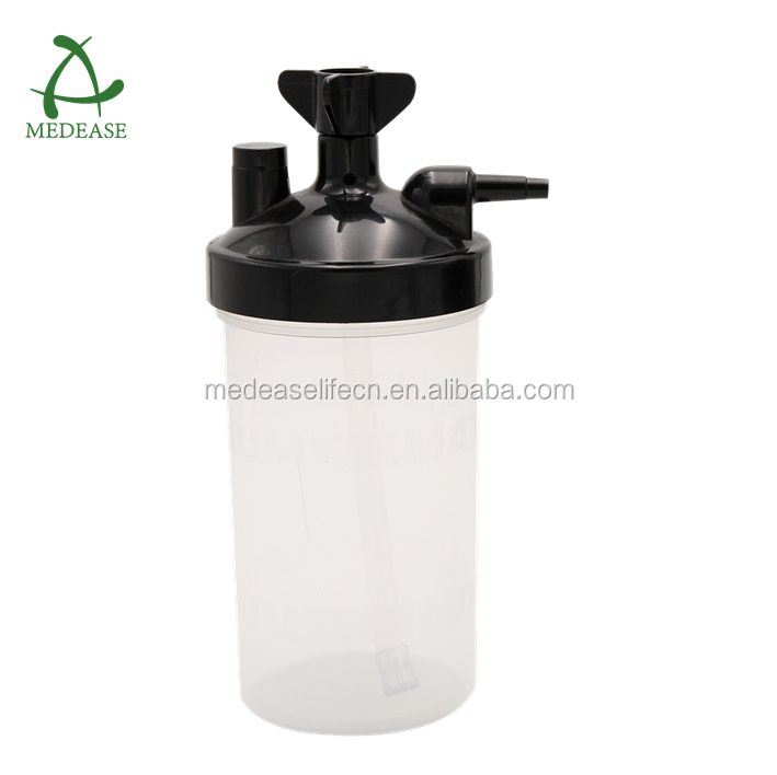 Medical Humidifier Bottle (2002-A) plastic bottle for portable oxygen cylinder system oxygen regulator flowmeter