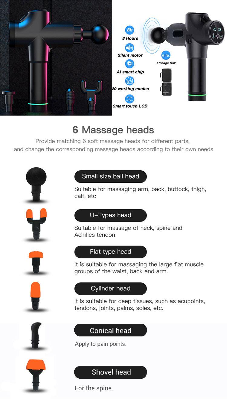 Amazon trend günstige preis für cordless g3pro professionelle neue paket massager gerät g2pro tiefe muscle massage gun
