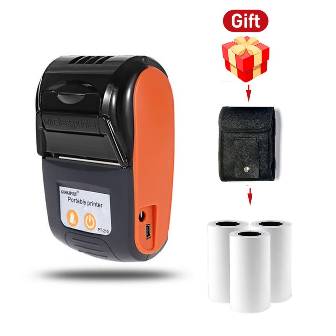 GOOJPRT PT210 Hot Android mini bluetooth thermal <strong>printer</strong> for retail