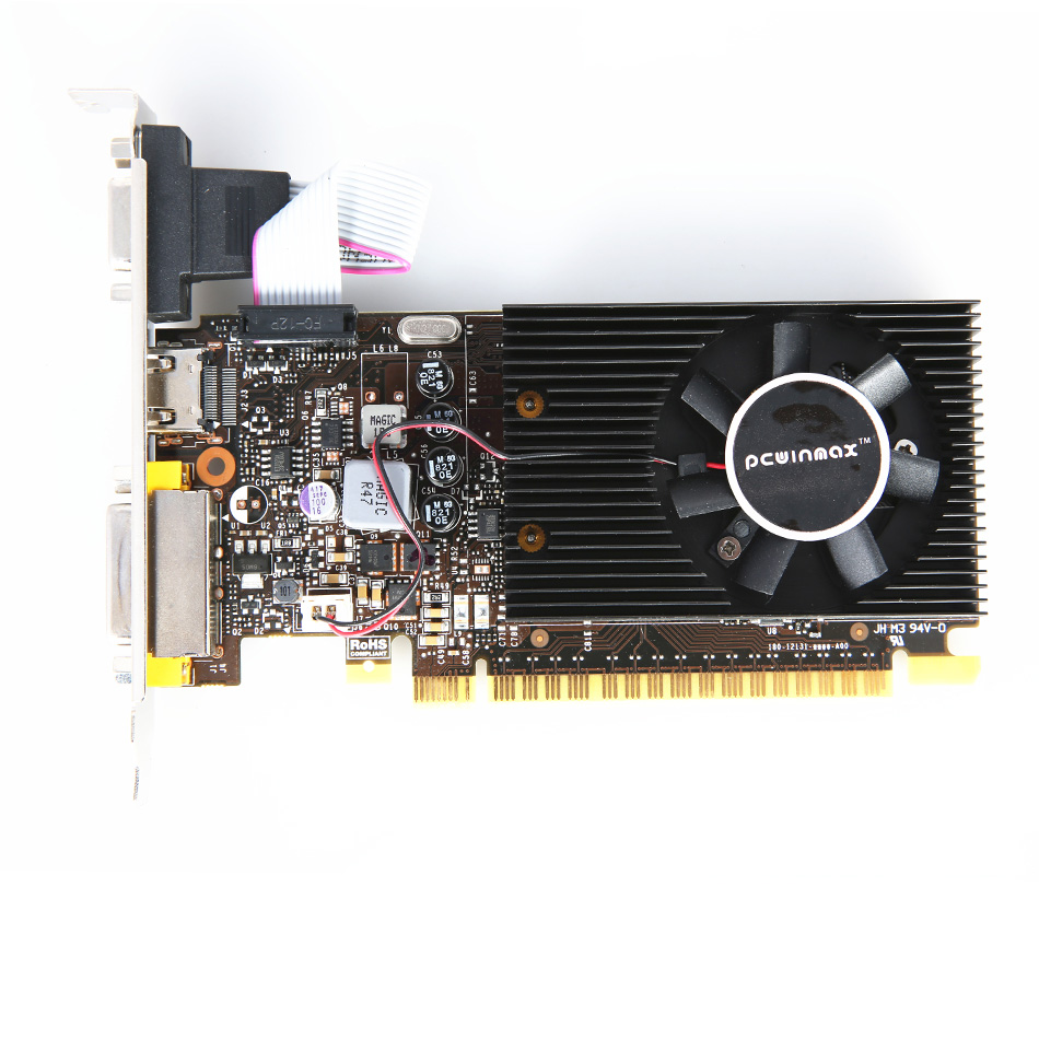 PCWINMAX Geforce DDR5 2 GO GT730K 64Bit Carte Graphique