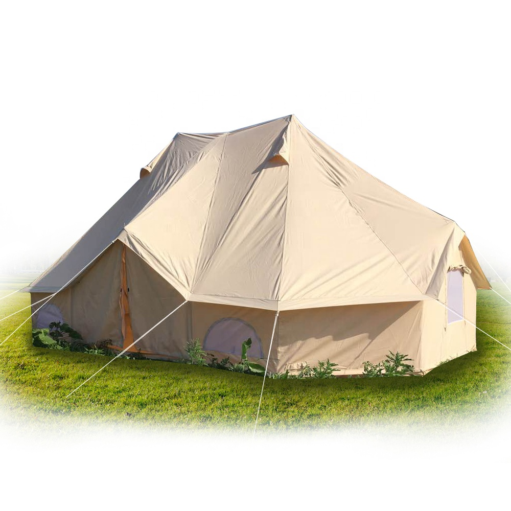 Modern Fashionable Ultra-Light New Designed Waterproof Emperor Bell Tent For Family Travelling And Hiking