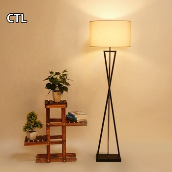England popular furniture match modern home decor standing lamp CE European contemporary black tripod floor lamp for hotel