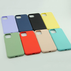 Iphone Case For Iphone 11 Pro Liquid Silicone Slim Soft Case Cover For Cellphone Case