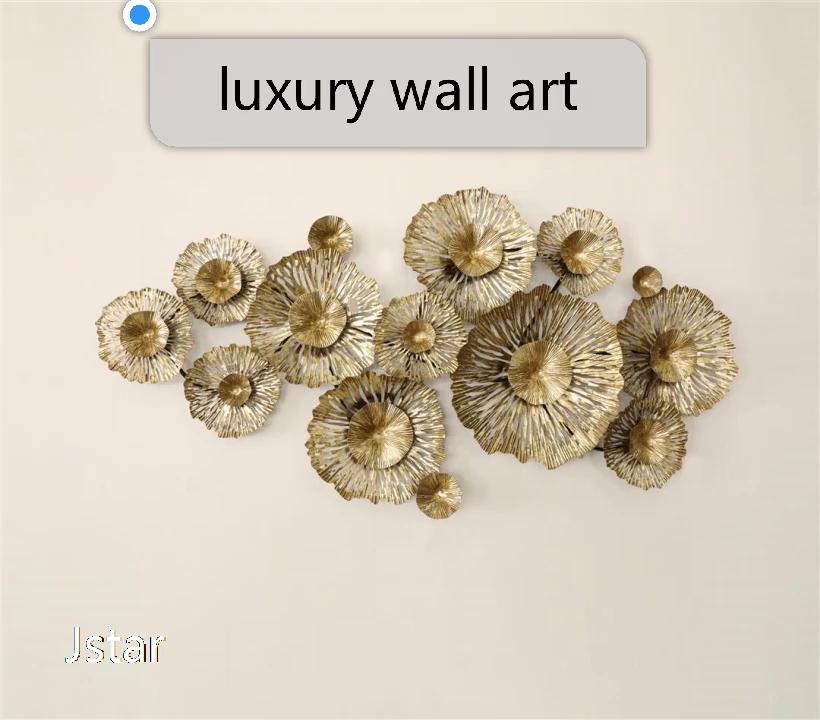 Sanat tanrı çiçek Metal dekorasyon öğeleri metal duvar dekoru ev dekorasyon için