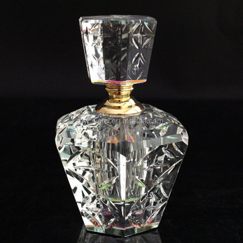 Hot Sale Upscale Cosmetic Packing Glassware Fragrance Glass Perfume Bottle