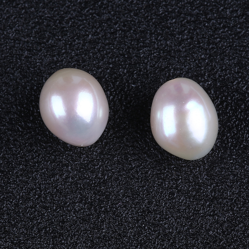 9-10mm AAAA top quality large size nugget baroque loose pearls in pairs
