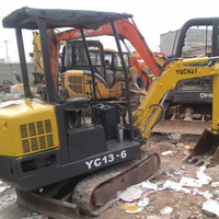 Chinese excavators Yu chai YC13-6 micro excavator for sale