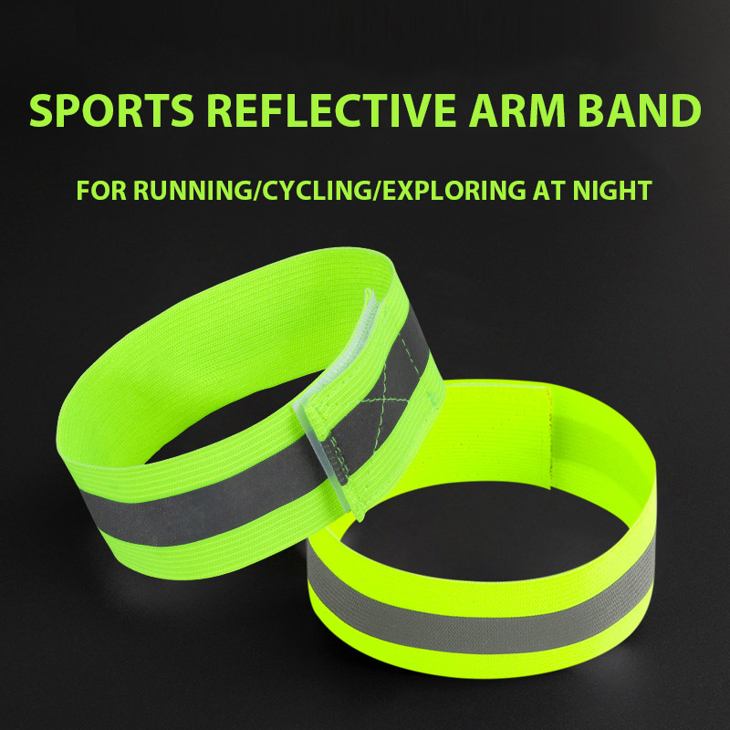 Outdoor Safety Warning Wrist Band Night Security Armband