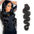 High quality human hair mink body wave tape on hair