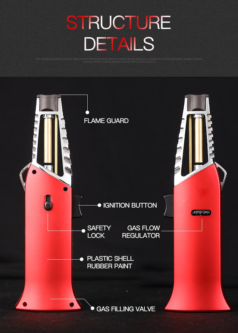 GF928A producto de alta demanda encendedor de butano de relleno de gas de antorcha de barbacoa con un precio barato