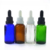 cosmetics packaging empty 10ml 30ml 1 oz  50ml 2 oz 100ml black  clear frosted amber essential oil serum glass dropper bottles