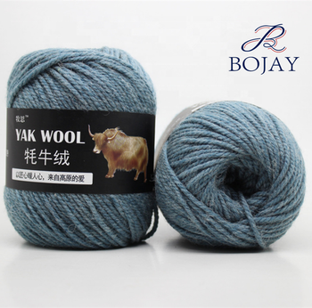 Bojay Chinese Yarn Importers Crochet Knitted Yak Wool Yarn For Baby Clothes Hand Knitting Acrylic Blend Yarn
