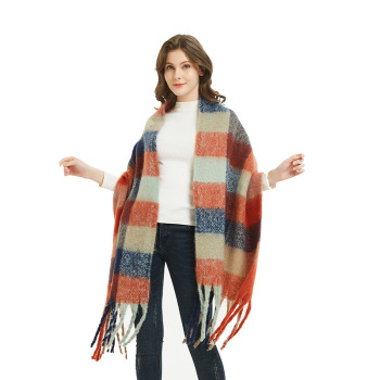 2019 New Style Fashion Wholesale Ladies Winter Shawl Women Tartan Scarf