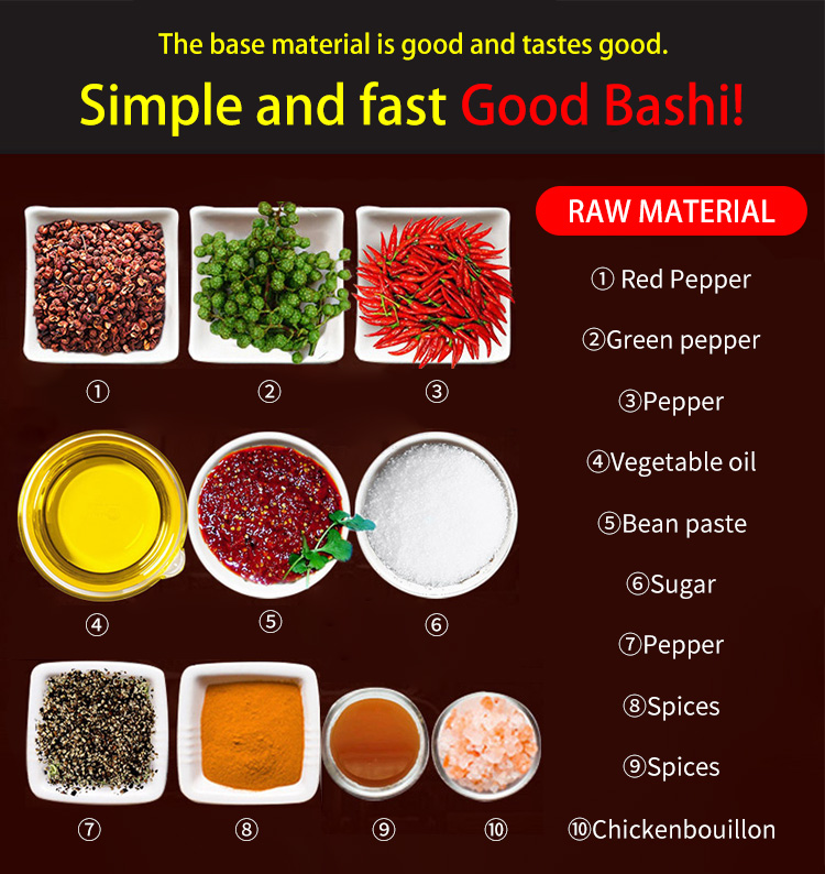 Good Quality Competitive price  Hot Pot Seasoning Paste for Fish