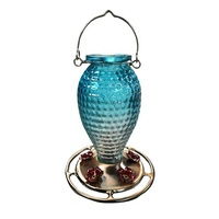 Food Storage Hanging Bird Water Pigeon Glass Hummingbird Feeder