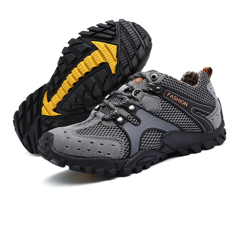 Atacado de Alta Qualidade Respirável Homens Casual caminhadas Ao Ar Livre sapatos de trabalho sapatos para homens