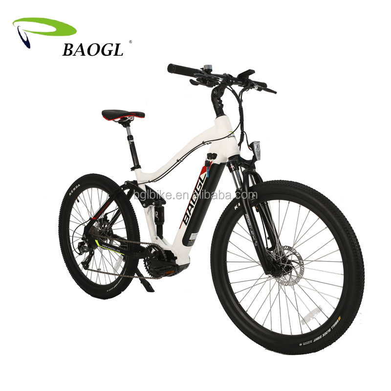 26'' 27.5'' All Full Suspension Rear Motor EMTB Electric Mountain Bike