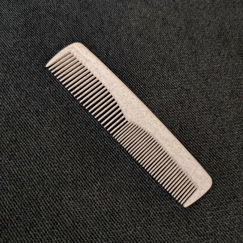 Eco friendly biodegradable corn starch based plastic comb for hotel фото