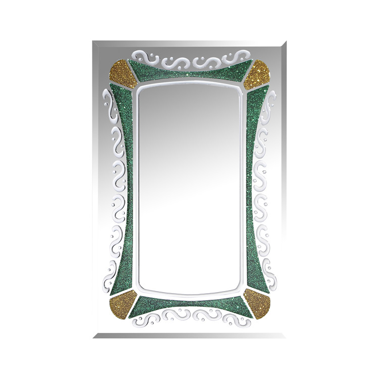 indian fashionable style home decor mirror bath decor resin mirror