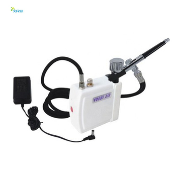 HS08AC-SK professional airbrush makeup brands air compressor with airbrush for makeup