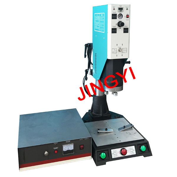 15KHz 2600W Plastic Road Reflector Ultrasonic Welding Machine, reflective lens welding machine