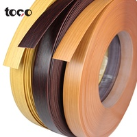 furniture accessories 3mm Wood Grain high gloss pvc edge banding edge banding tape for particle board