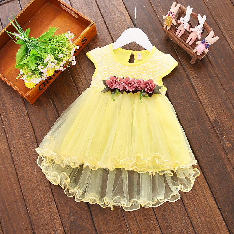 2020 children boutique dot clothing summer cute bow girls overalls suspender skirt clothing sets