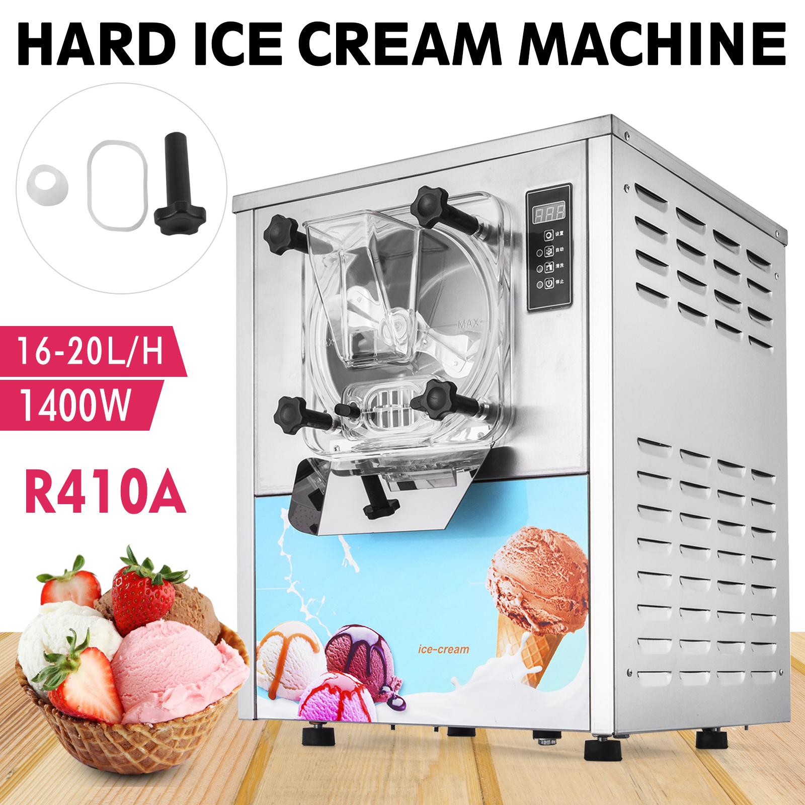 YKF-116 Commercial Ice Cream Sorbet Making Batch Freezer Gelato Machine Hard Ice Cream Machine