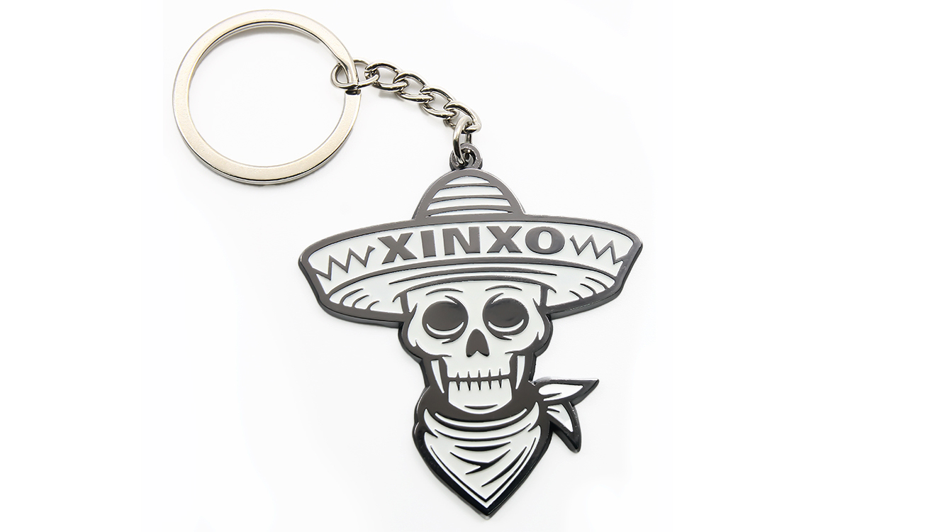 Custom Promotional Key Chain High Quality Keychain Cheap Metal Death Logo Key Chains