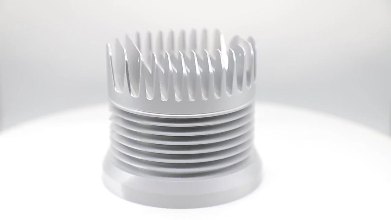 Wasserdicht Zylindrischen Teile Automobil Benutzerdefinierte Länge EUC Aluminium Gehäuse Box